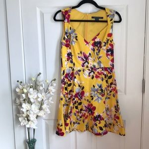 French Connections Midi Dress Size 4